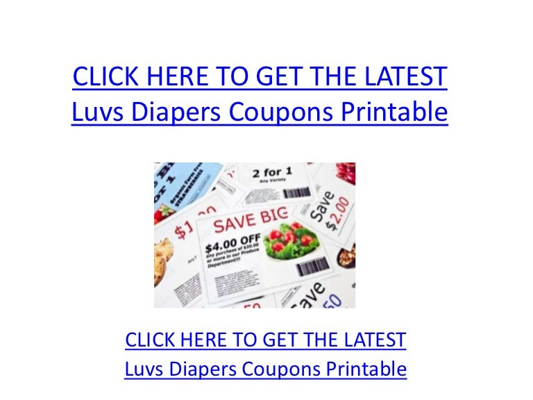 photograph about Printable Luvs Coupons called Luvs Diapers Discount coupons Printable - Luvs Diapers Discount coupons Printable