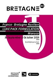 Breton companies at Luxe Pack Formulation