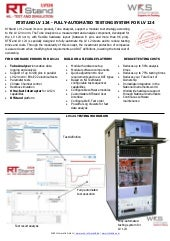 RTStand LV 124 - fully-automated testing system for LV 124