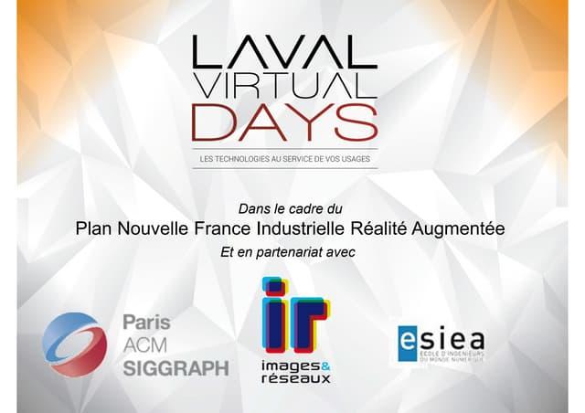 Laval Virtual Days, c'est parti !