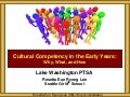 Lake Washington PTSA Council Cultural Competency in the Early Years