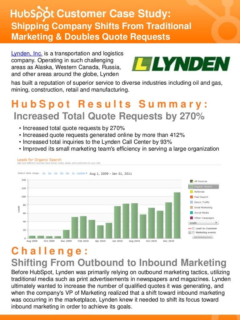 lynden case study hubspot