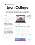 Lyon College Case Study