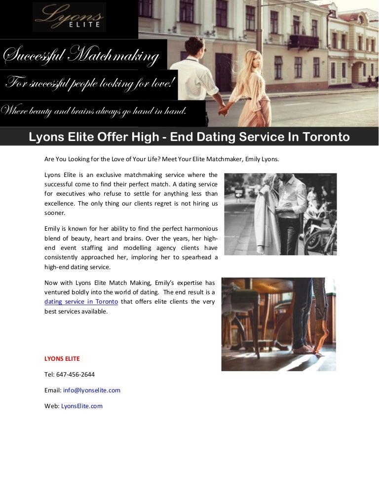 Toronto dating service