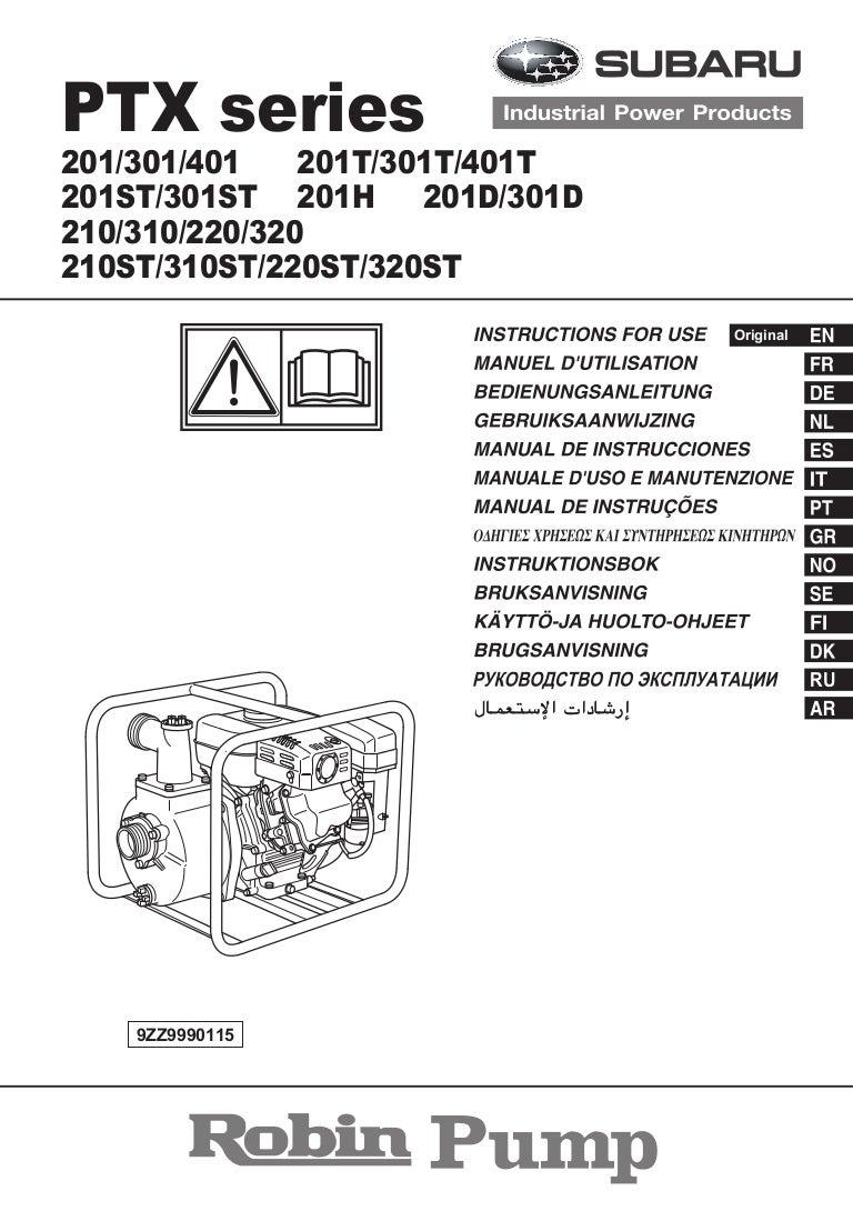 manual de instrucciones motobombas ptx espa ol rh slideshare net Evans Power Equipment Mexico Motobomba Bypass