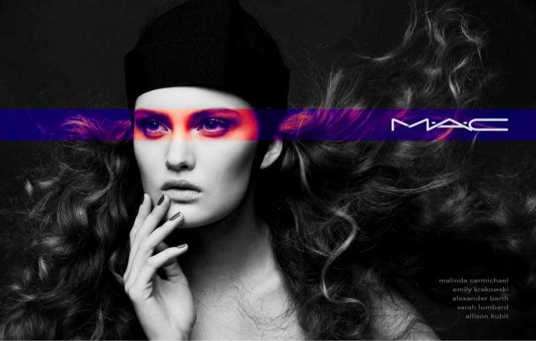 m u2022a u2022c cosmetics advertising campaign