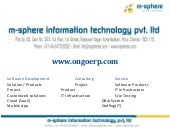 ongoERP on demand ERP Solution