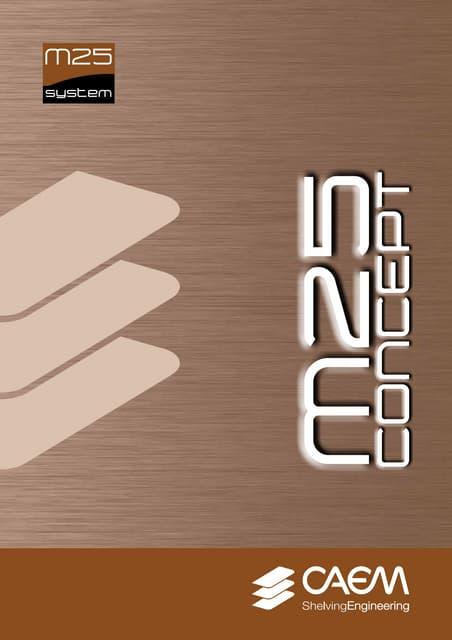 M25 concept caem  brochure 2014