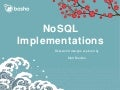 NoSQL Implementation - Part 1 (Velocity 2015)