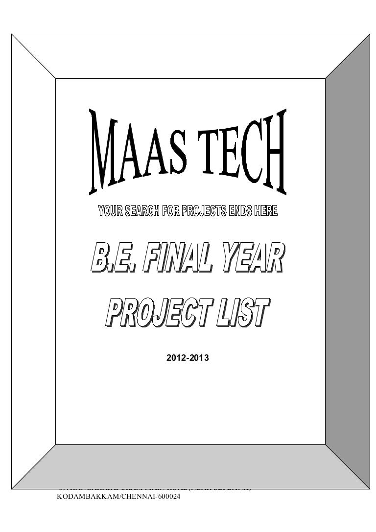 Final Year Electrical Projects Electronics List Malaysia Dub Pic16f73 Based Temperature Indicator And Controller Best Engineering
