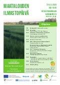 Maatalouden ilmastopäivän ohjelma