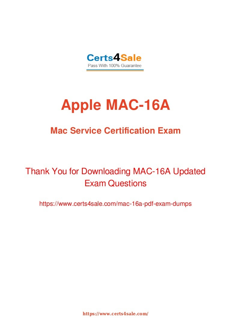 Acmt mac 16a technician exam dumps with latest questions and answers 1betcityfo Gallery