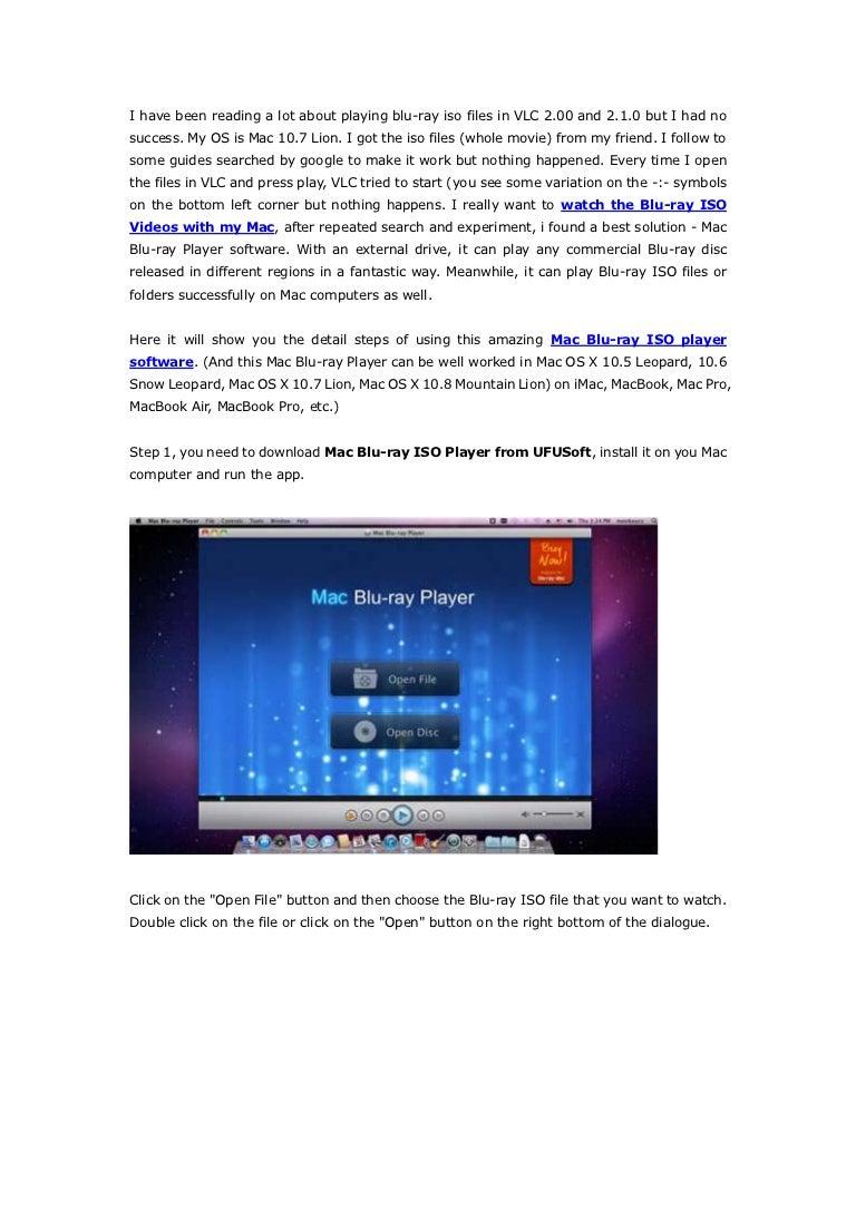 Best mac blu ray player app
