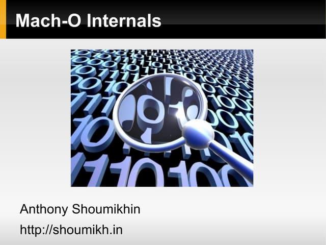 Mach-O Internals