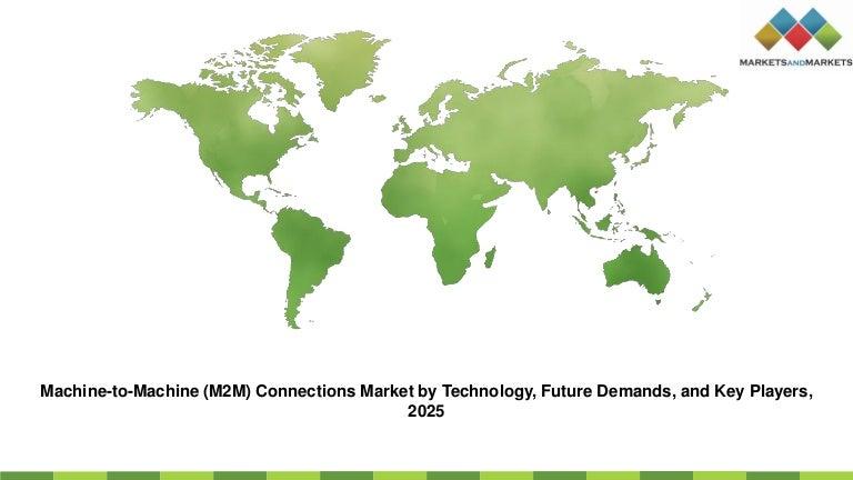 Machine to-machine (m2 m) connections market