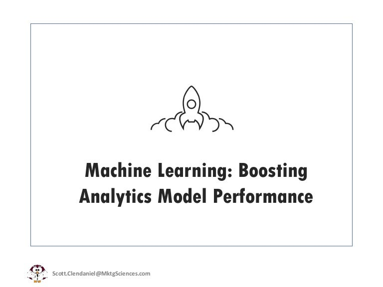 Machine Learning/ Data Science: Boosting Predictive Analytics Model P…