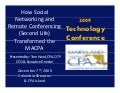 How Social Networking & Remote Conferencing (SL) Transfomed MACPA