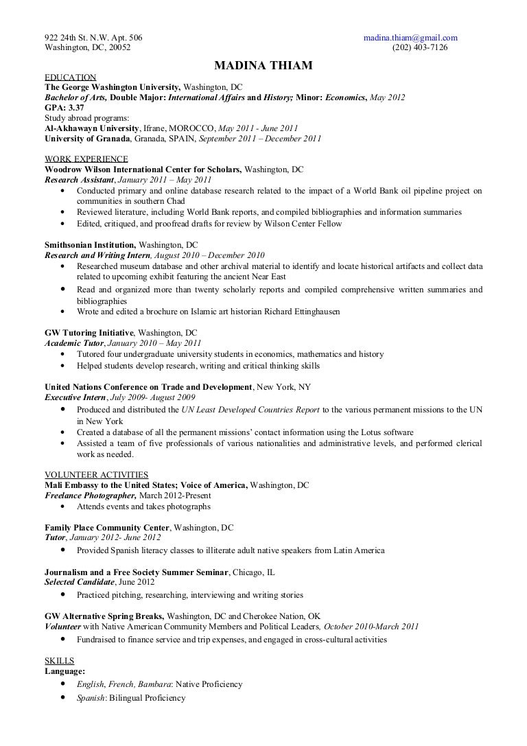 Perfect George Washington Resume Lawyer Sample Example Yemmaline Intended George Washington Resume