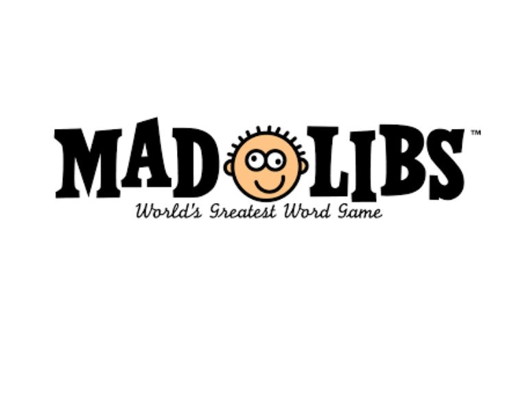 25824b88bd Mad libs for beginning ESL class