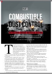 Combustible dust control - part 1