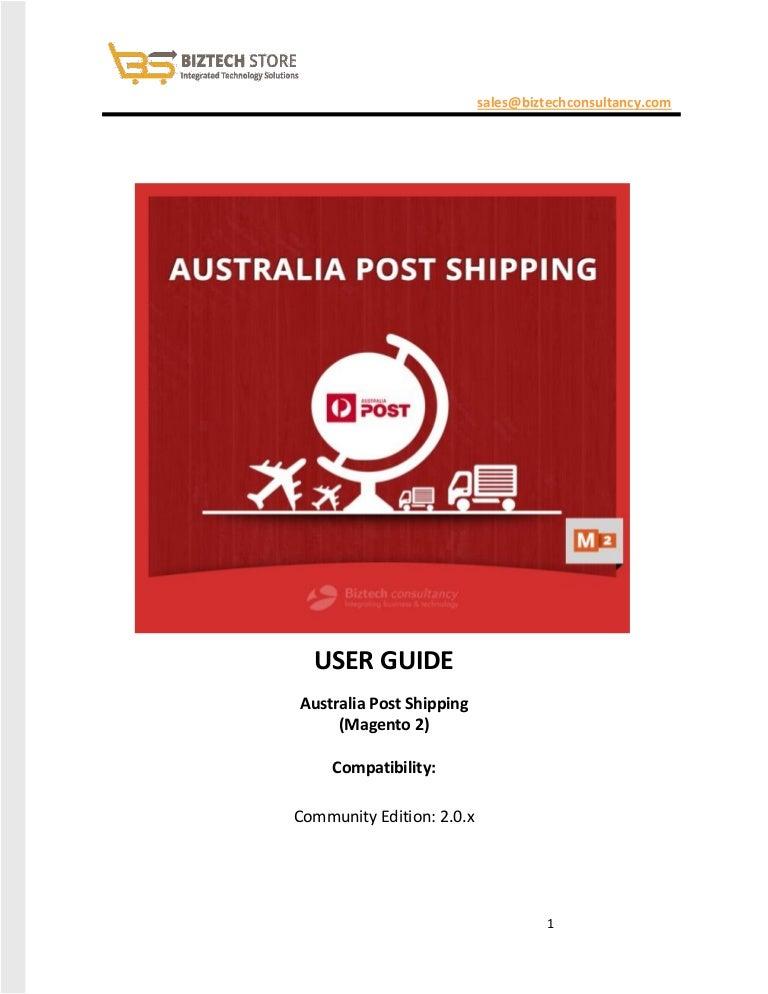 australia post how to send parcel