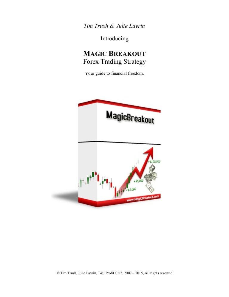 Magic Breakout Forex Trading Strategy PDF eBook