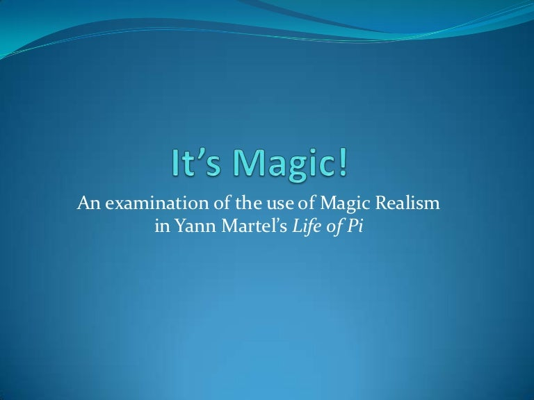 essay on magical realism Magical realism is a different way of thinking, comparing subjects, intertwining creativity and reality, going out of the box, and suspending notions of reality make magical realism easier to understand.