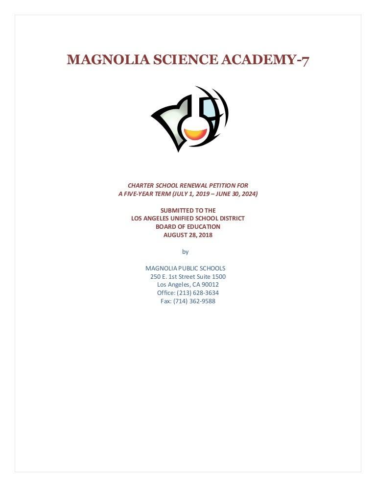 Uci Academic Calendar 2022 23.Magnolia Science Academy 7 Renewal Application Gulenschool