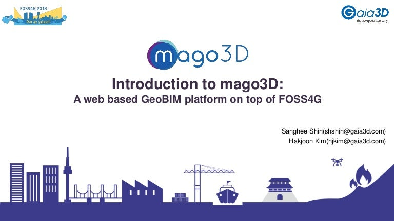 Introduction to mago3D: A web based GeoBIM platform on top