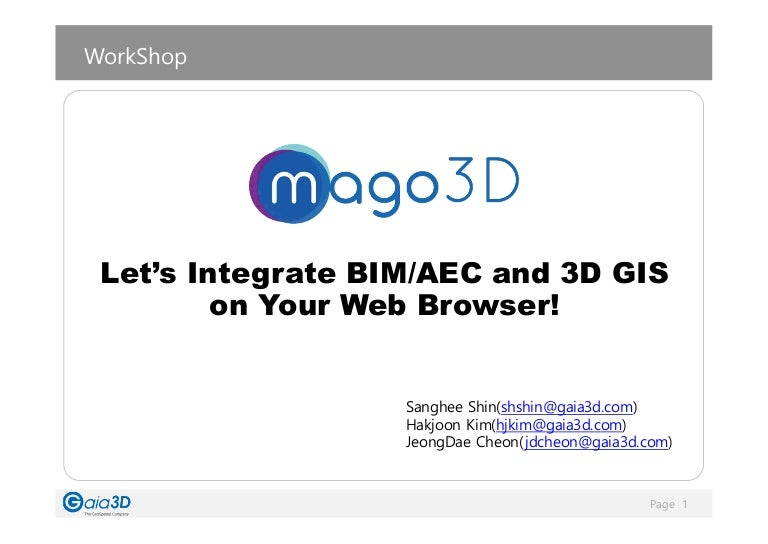 mago3D Technical Workshop Material(New Version)