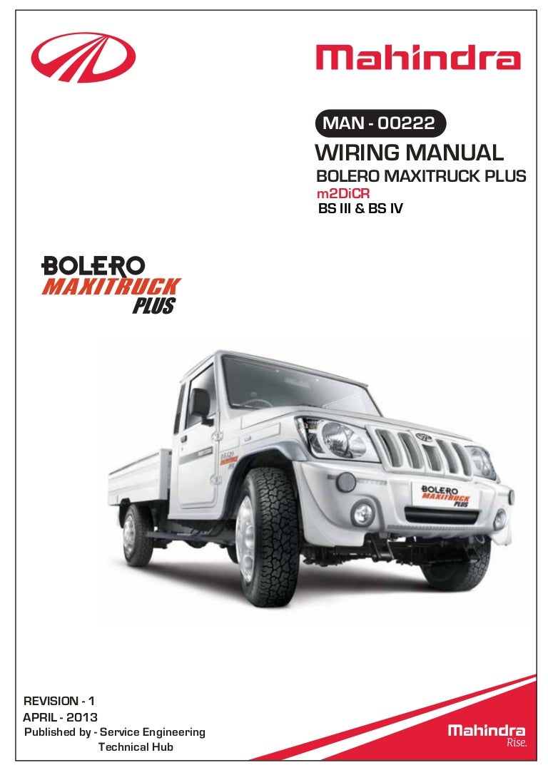 WRG-7045] Mahindra 450 Wiring Diagram on