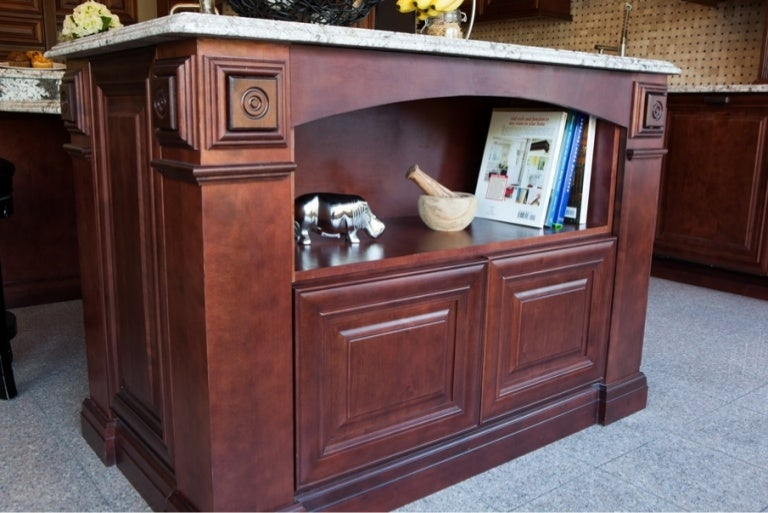 Mahogany Kitchen Cabinets Islands Countertops Phoenix Az