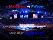 Email Marketing Services - MailChimp vs AWeber