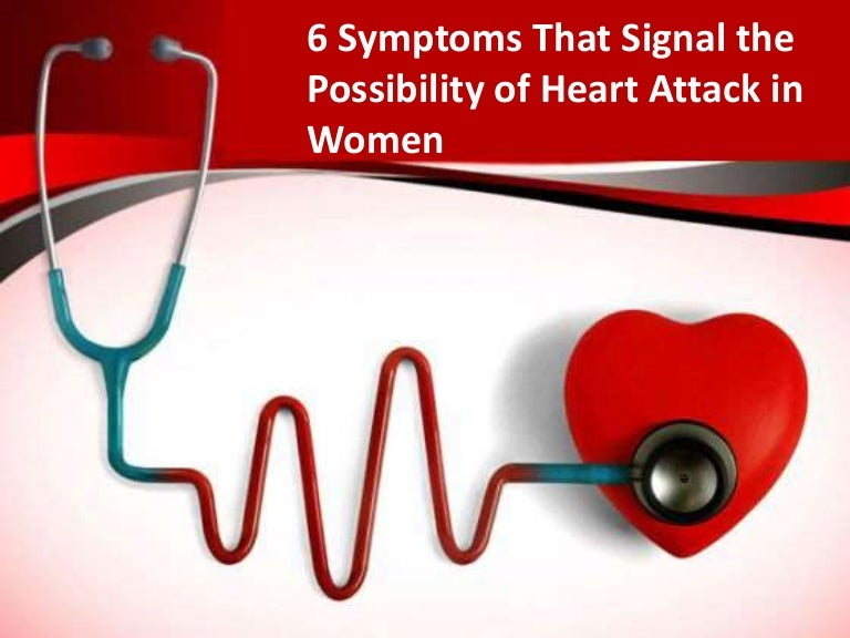 Main 6 symptoms for heart attack in women toneelgroepblik Choice Image