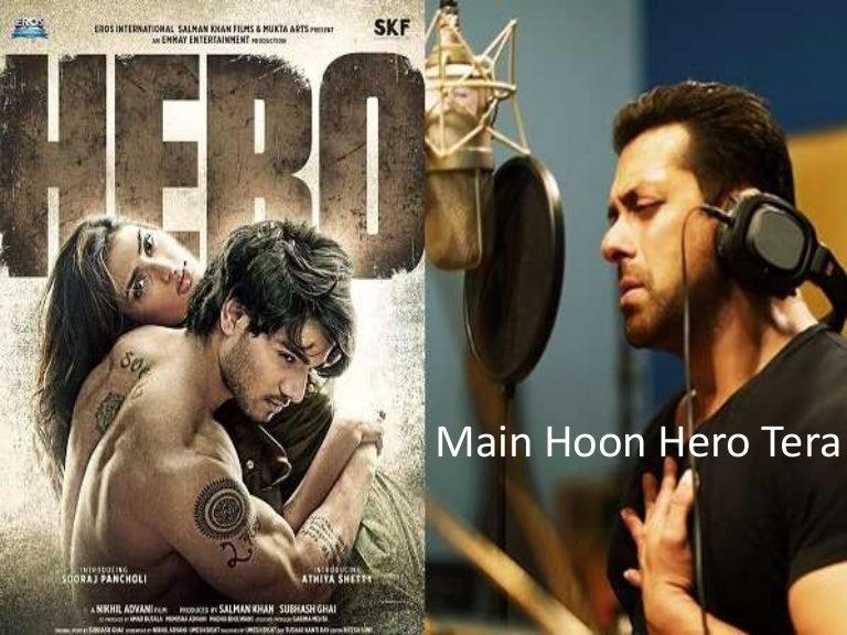 Main Hoon Hero Tera Hero Movie Song By Salman Khan