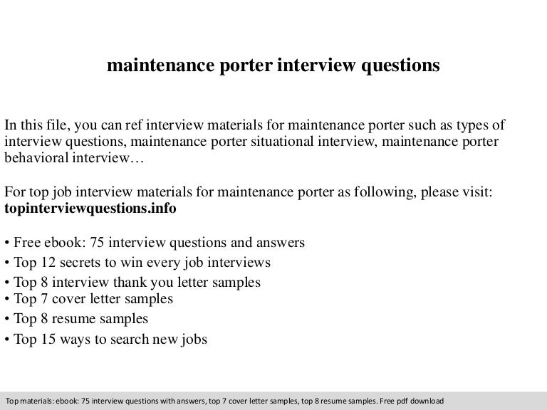 kitchen porter resume
