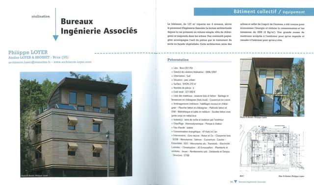 Maisons et constructions bois -  Bureaux Ingenierie Associés