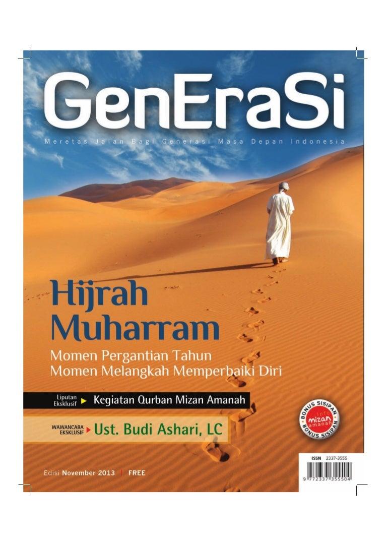 Majalah Generasi 10 November 2013 Rejeki Anak Soleh 3 Voucher Carrefour Rp 200000