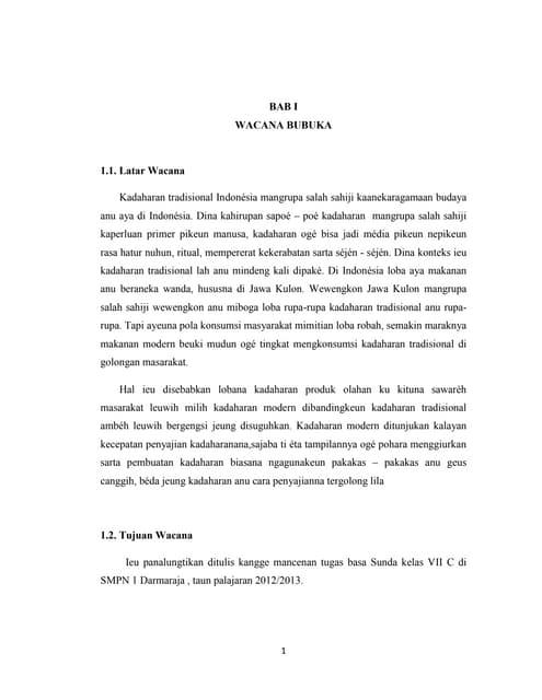 Contoh Makalah Wawancara Bahasa Sunda Kumpulan Contoh Makalah Doc Lengkap
