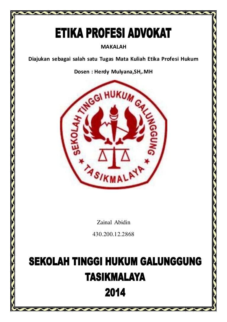 Uu Advokat Pdf