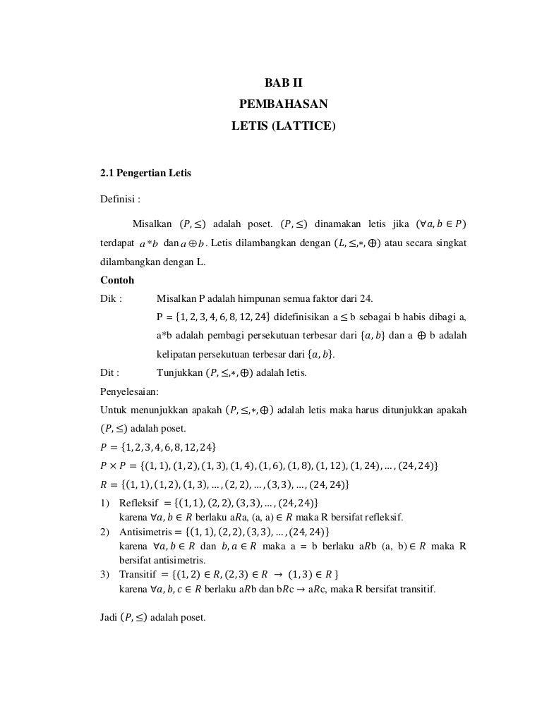 Letis mk matematika diskrit ccuart Gallery