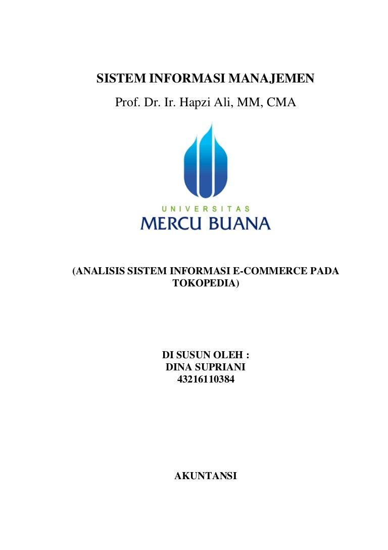 Makalah Sim Dina Supriani Hapzi Ali Analisis Sistem Informasi E C