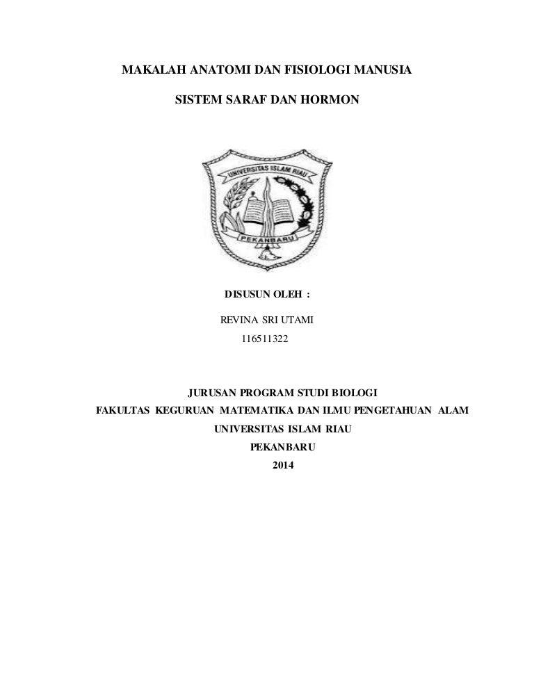 Sistem Saraf Dan Hormon Universitas Islam Riau