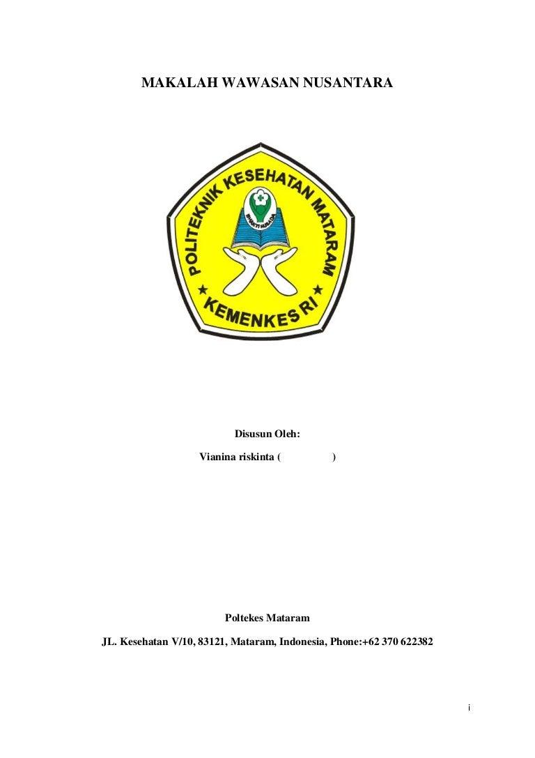 Makalah Pkn Wawasan Nusantara Pdf