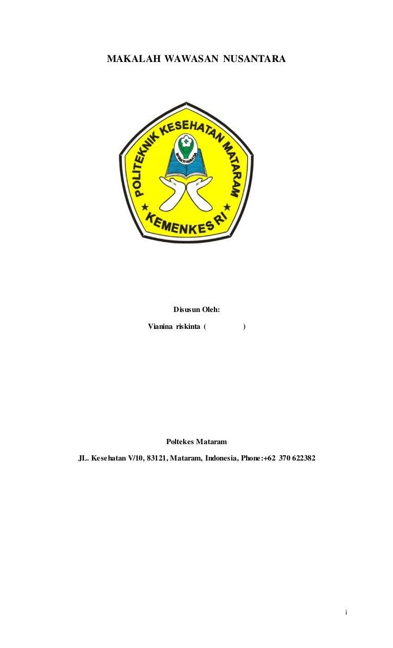 Makalah Wawasan Nusantara 1