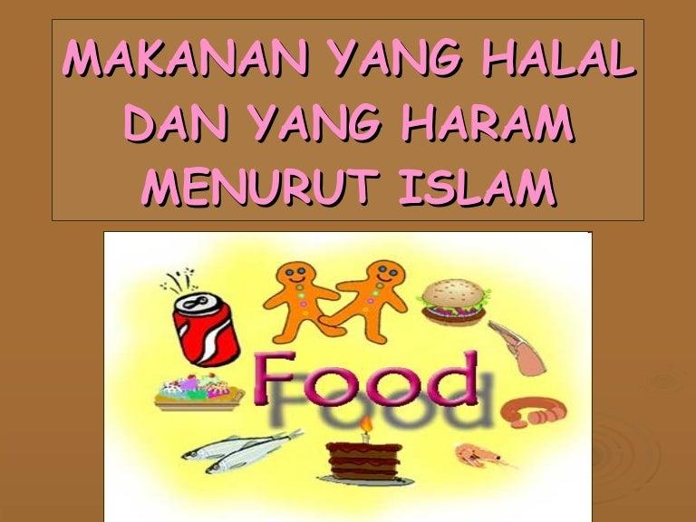 Makanan Halal Haram