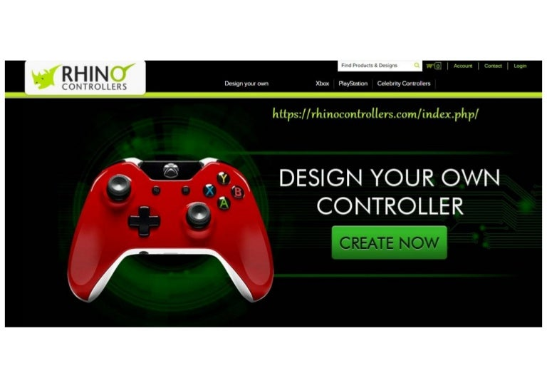 Make Your Own X Box One X Box 360 Playstation4 Ps3 Custom Controlle