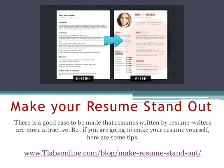 SlideShare  How To Make Your Resume Resume
