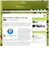 Make the Best of ASO for your App