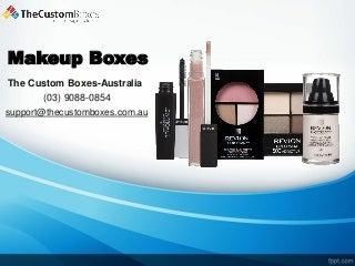 Makeup boxes - Custom Printed Makeup Boxes